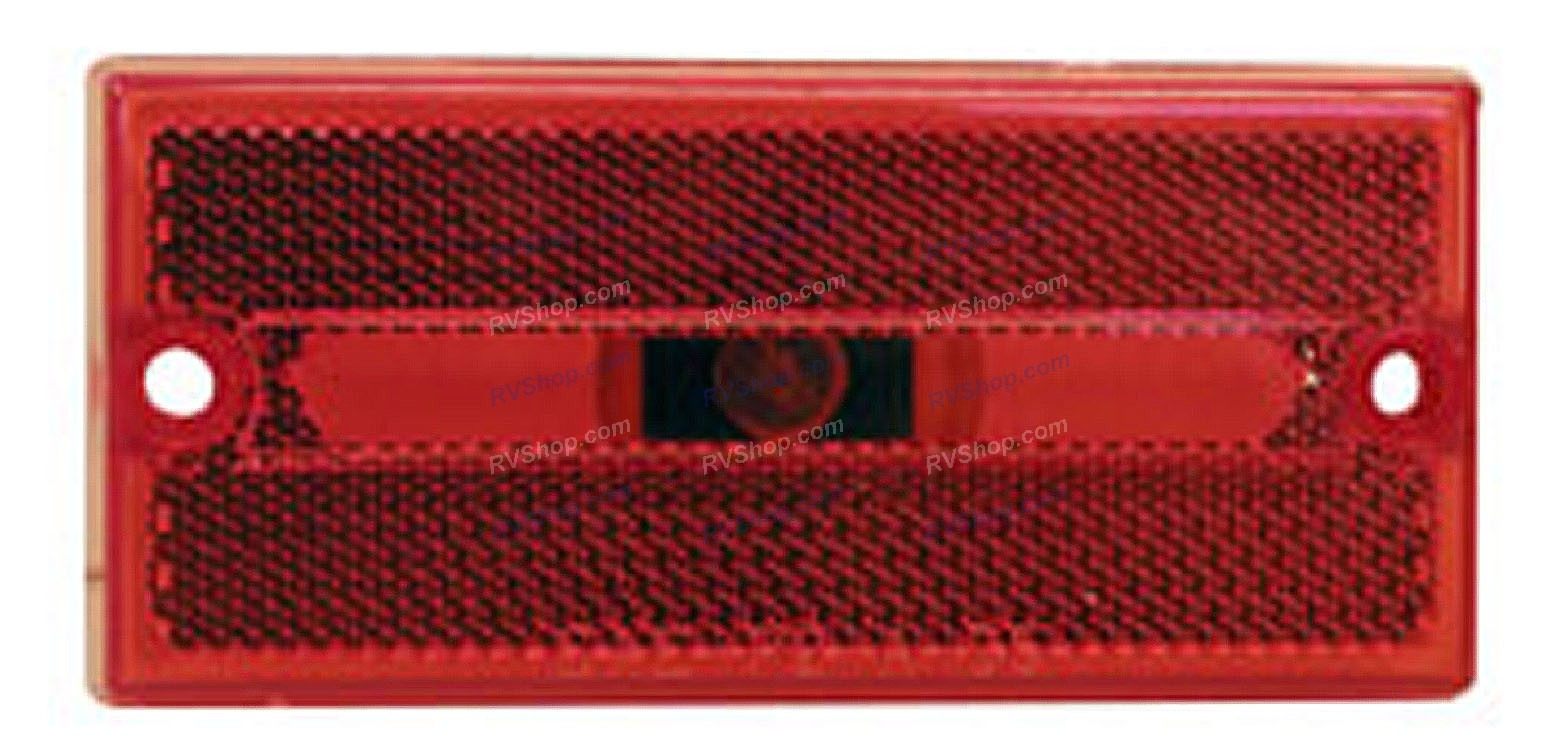 Peterson Clearance Side Marker Light Red V132r