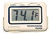 TEMPERATURE MONITOR AND CLOCK BY PRIME PRODUCTS # 12-3025