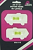 1 PAIR MOTORHOME LEVELS WHITE BY PRIME PRODUCTS # 28-0121