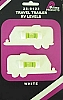 1 PAIR TRAILER LEVELS WHITE BY PRIME PRODUCTS # 28-0122