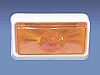 COMMAND CLASSIC INCANDESCENT PORCH LIGHT AMBER LENS COMMAND # 007-50SAC