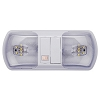 LED INTERIOR DUAL DOME LIGHT