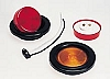 "2-1/2"" ROUND SEALED CLEARANCE LIGHT RED BY PETERSON # 142R"