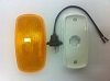 Clearance / Side Marker Light with Amber Lens Bargman Series 59, 31-59-002, 34-59-002