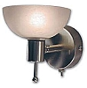 READING LIGHT BRASS W/ALABASTER GLASS SHADED - MANUFACTURERS SELECT BY ITC # 36704-BR/98-D