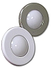 LED LIGHT ROUND-WHITE BEZEL - FLUSH-SURFACE MOUNT - MANUFACTURERS SELECT BY ITC # 69662-W-D