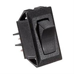 10A Rocker Switch - Black