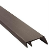 8' Hehr Style Screw Cover - Brown