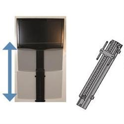 Tv mount motorized vertical tv20 001h for Motorized tv mount over fireplace