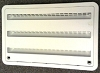 Dometic Refrigerator Lower/Upper Side Wall Vent -  Polar White