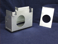 Atwood Water Heater Flue Box Assembly