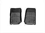 WeatherTech FloorLiner Front Black for 2012 2014 Dodge Ram 2500 and 3500, 444781