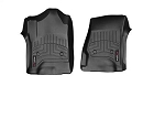 WeatherTech FloorLiner Front Black Mats for 2014 2015 Silverado Sierra 446071