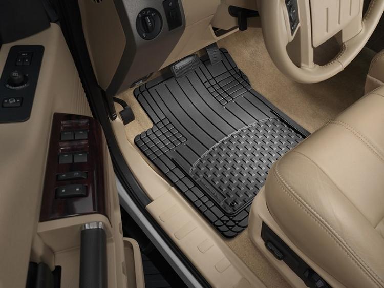 weathertech all vehicle mats  4 piece tan  11avmst