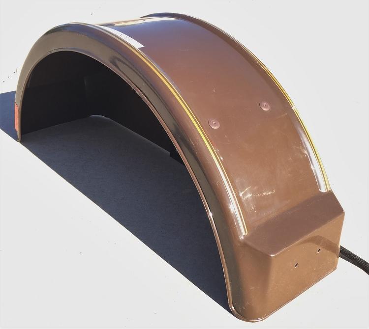 Demco Kar Kaddy Right Hand Fender 04518 Brown