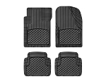 WeatherTech All Vehicle Mats, 4 Piece Black, 11AVMSB