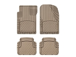 WeatherTech All Vehicle Mats, 4 Piece Tan, 11AVMST