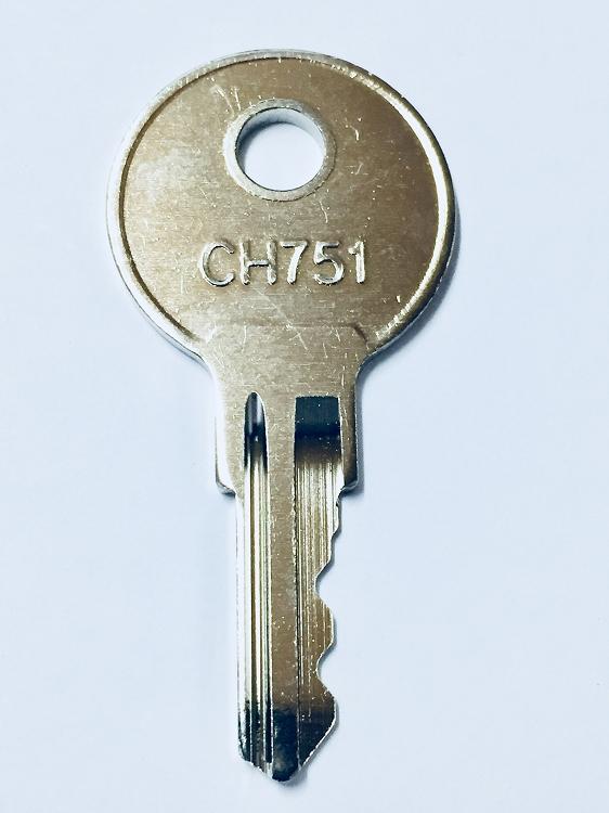 1 Pair 2 Keys Hurd Keys Ch751