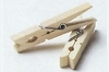 Wood Springs Clothespins
