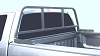 Truck Window and Cab Protector Model RR200B Black Finish
