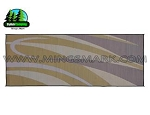 8' X 20' Brown and Gold Camping Mat