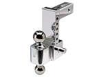 Trailer Hitch Ball Mount, 6 Inch Adjustable