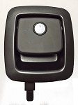 TriMark 60-460 EZ Access Baggage Lock, 1 Point Black with Plunger
