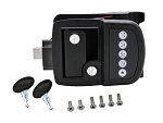 Bauer Electric Touch Pad Travel Trailer Lock, Right Hand