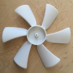 Jensen Vent Fan Blade, Clockwise 6