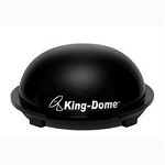 King Dome In-Motion Satellite TV Antenna - Black