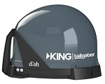 King Tailgater Satellite Antenna - Black
