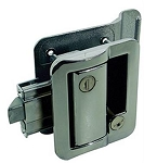 Fastec Travel Trailer Lock, Chrome