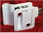 Fastec Travel Trailer Lock, White
