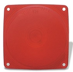 Red Stop Tail Turn Lens Only, Grote 90742
