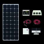 Zamp Solar Dual Battery Bank Solar Kit ZS-US-160-30AD-DX