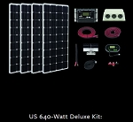 Zamp Solar 640 Watt Deluxe RV Kit ZS-US-640-60A-DX