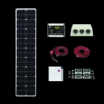 Zamp Solar Deluxe L Series Slim Line Kit ZS-US-80L-30A-DX
