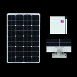 Zamp Solar RV Expansion Kit 100 Watt ZS-US-EX-100-DX