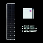 Zamp Solar Deluxe L Series Slim Line Expansion Kit ZS-US-EX-80L-DX