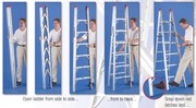 7 Foot GPL Compact Folding Ladder
