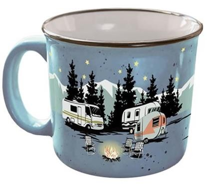 Camp Casuals Ceramic Mug, Starry Night