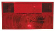 Red Replacement Lens for the Reflect-O-Lite 910 & 950 Tail Light, V25911-25