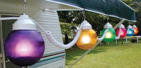"6"" -  6 GLOBE STRING LIGHTS MULTI COLOR  BY POLYMER PRODUCTS # 1661-00523"