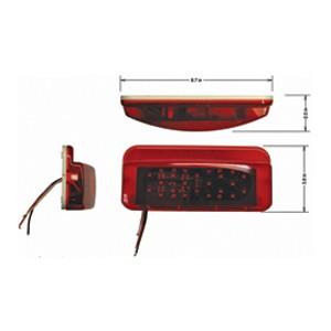 led tail light surface mount. Black Bedroom Furniture Sets. Home Design Ideas