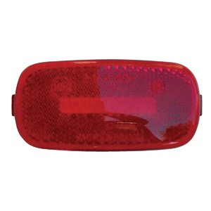 4x2 Marker Light Replacement Lens Red 52717
