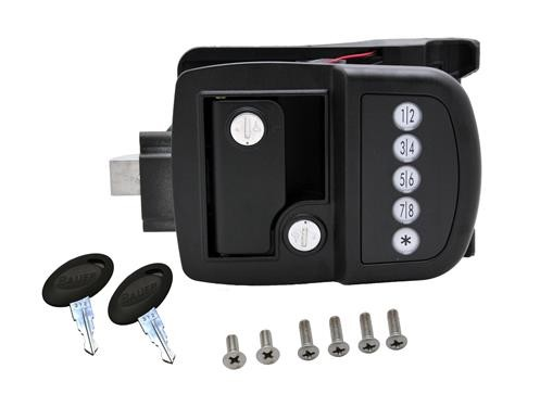 Bauer Electric Touch Pad Travel Trailer Lock Right Hand