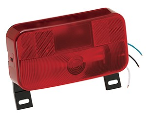 Series 92 Tail Light with Bracket with Black Base (#30-92-108) by Bargman