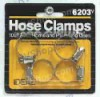 4pk HOSE CLAMPS CARDED