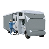 26' - 29' Class C Motorhome RV Cover Grey/Snow White, 79463