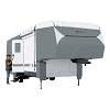 23' - 26' 5th Wheel RV Cover Grey/Snow White, 75363